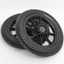 Disc Golf Cart All-Terrain Tubeless Foam Wheels Set of 2