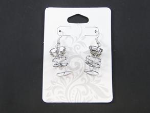 Disc Golf Basket Earrings