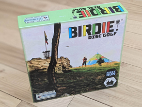 Birdie Disc Golf Board Game