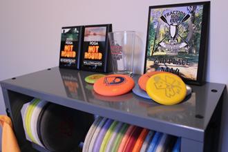 Hyzer Disc Rack