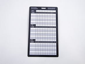 Discraft Reusable Score Card