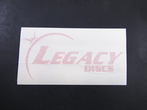 Legacy Vinyl Decal