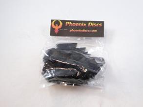 Phoenix Discs Wall Hanger Fixtures with Screws