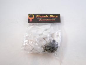 Phoenix Discs Wall Hanger Fixtures with Tacks
